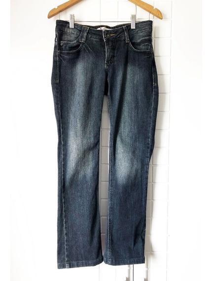 Calça Jeans Feminina Corte Reto - Tam 38