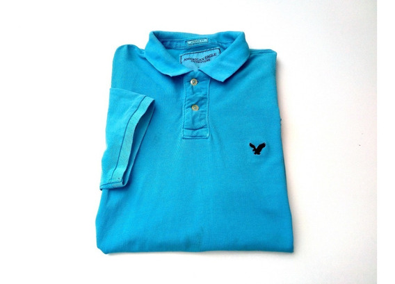 Polo American Eagle Azul