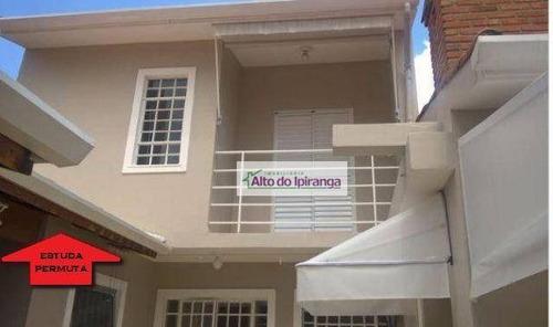 Casa Com 4 Dormitórios À Venda, 150 M² - Bosque Da Saúde - São Paulo/sp - Ca0159