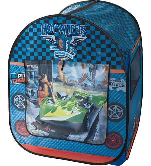 Barraca Infantil Fun - Hot Wheels Oficina Azul