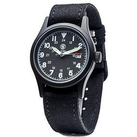 Herrero & Wesson Sww-1464- Reloj Militar Blk Con Tres Correa