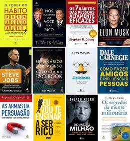 Pacote 80+ Livros Empreendedorismo Administração Liderança