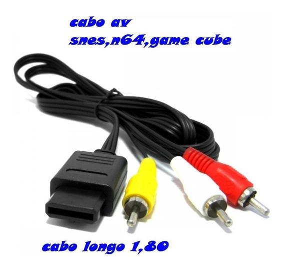 Cabo Av, Snes, N 64, Game Cube Frete Grátis Carta Registrada