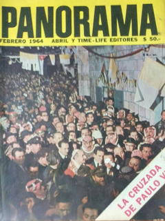 6 Revistas Panorama Decada 60-70