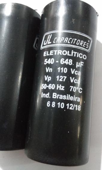 7 Capacitor Eletrolitico 540-648uf 110v Jl