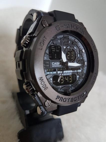 Relógio Masculino Casio G-shock Cabeça De Aço Esportivo