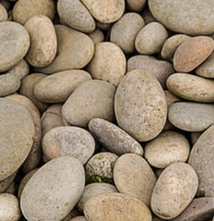 Piedra Decorativa Tipo Papa De Rio Saco De 10 Kilos