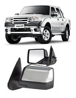 Espejo Cromado Ford Ranger Electrico 2009 2010 2011 2012 Izq