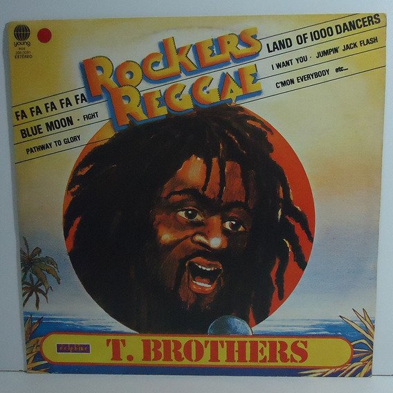 T. Brothers 1979 Rockers Reggae Lp Jumpin Jack Flash