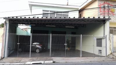Casa Térrea Com Um Salão Enorme Na Frente, No Parque São Domingos. - Ca0752