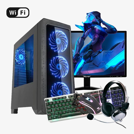 Pc Gamer Completo I7 4ª,16gb Ram Ddr3,ssd 480gb,rx 570 8 G
