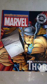 Revista Coleção Miniaturas Marvel Ed.15