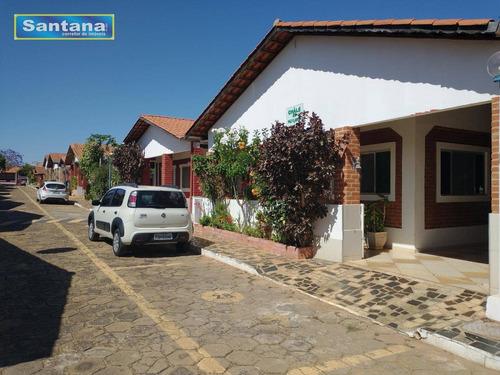 Casa Com 2 Dormitórios À Venda, 160 M² Por R$ 140.000,00 - Mansões Das Águas Quentes - Caldas Novas/go - Ca0083