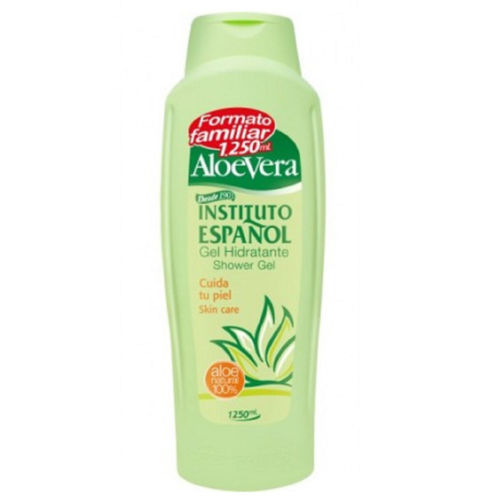 Shower Gel Hidratante Corporal De Banho Aloe Vera 1,25l