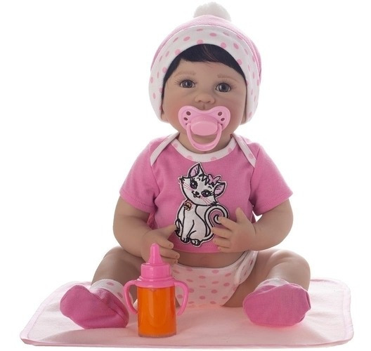 Boneca Laura Newborn Iolanda - Bebe Reborn
