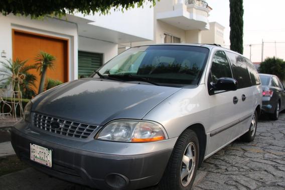Ford Windstar 2001 Gris Plata 5 Puertas Aut Con Aire