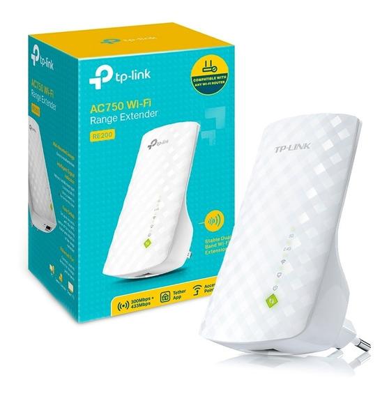 Extensor De Señal Wifi Tp Link Re200 2.4 Y 5 Ghz Repetidor
