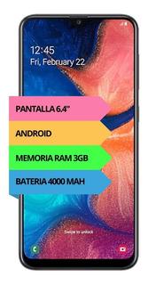 Celular Samsung Galaxy A20 32gb 3gb Ram Garantía Oficial