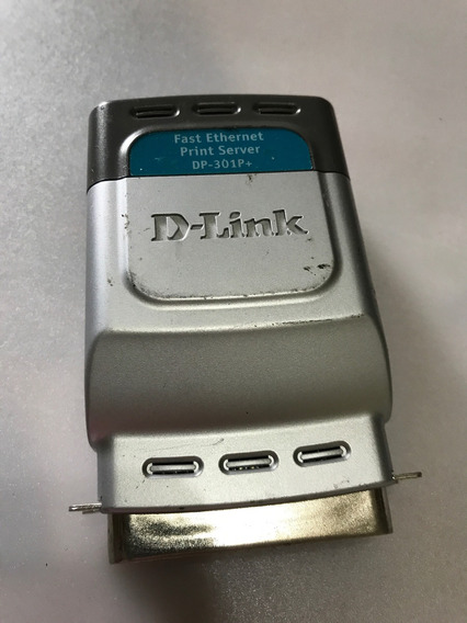 Print Server D-link Dp-301p+ Sem Fonte