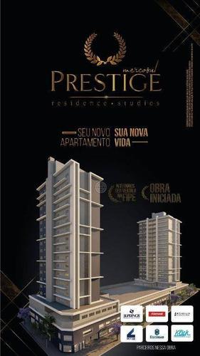 Apartamento Com 1 Dormitório À Venda, 49 M² Por R$ 196.000,00 - Prestige Mercosul Studios - Foz Do Iguaçu/pr - Ap0216