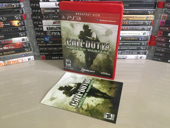 Call Of Duty Modern Warfare 4 Ps3 Original Semi Novo Dvd