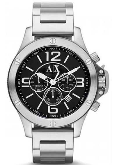 Relógio Armani Exchange Masculino Prateado Ax1501/1pn