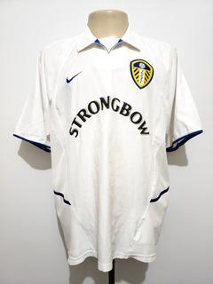 Camisa Oficial Leeds United Inglaterra 2002 Home Nike G