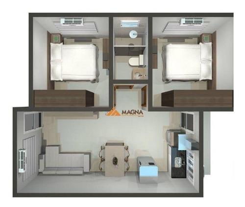 Casa À Venda, 45 M² Por R$ 170.000,00 - Jardim Pedra Branca - Ribeirão Preto/sp - Ca2587