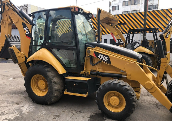 Retroexcavadora Caterpillar Cat 420e 2011 Cab Ext 416e 4x4