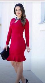 Vestido Midi Social Casual Evangélico Roupas Feminina.