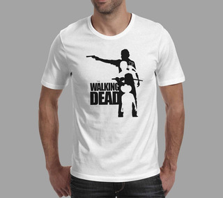 Camiseta The Walking Dead - Branco