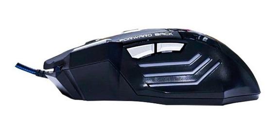 Mouse Shinka X7 Sensibilidade Ajustável Ergonômico 2400 Dpi