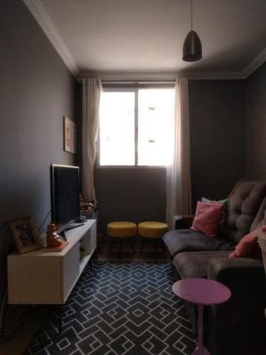 Apartamento 2 Quartos, 1 Vaga Com Elevador No Castelo - 1091