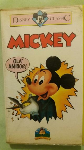 Vhs Mickey Da Babylandia Disney Classic