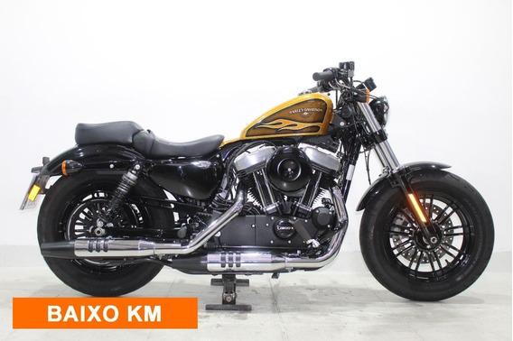 Harley Davidson Sportster Xl 1200 X Forty Eight 2016 Dourada
