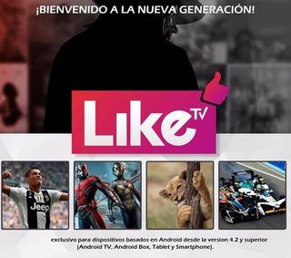 Liketv Ecuador Megaplay 100% Original Renovaciones