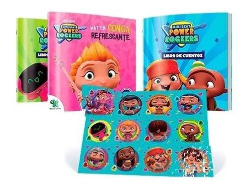 Imagen 1 de 3 de Clarín Colección Rompecabezas Mini Beats Power Rockers
