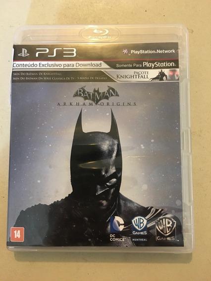 Game Ps3 Batman Arkham Origins