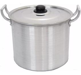 Panelão Caldeirão Sopa Aluminio 22 L. Aluminio Bem Forte ;)