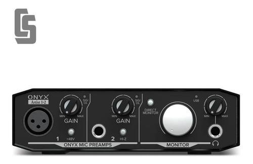 Placa Interfaz De Audio Usb Mackie Onyx Artist 12