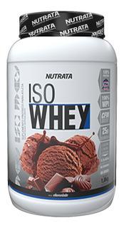 Whey Protein Iso Whey Isolado 900g Sabores - Nutrata