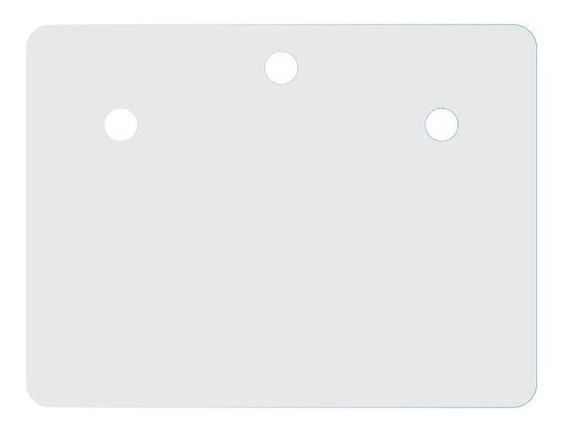 500 Etiquetas Quadrada Para Brincos - Grande Item