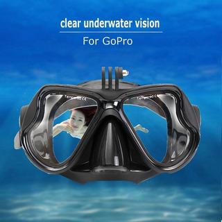 Mascara Gafas Goggles Visor Buceo Snorkel Gopro 3 4 5 6