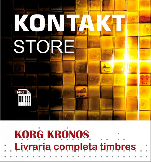 Kontakt Samples Korg Kronos Completo + Frete Grátis + Brinde