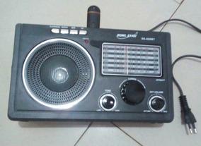 Radio Portatil Bluetooth Mp3 Pen Drive Am Fm Tudo De Bom God