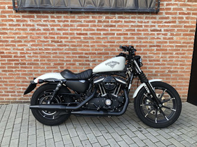 Harley Davidson Iron 2018 Branca Com 1500km
