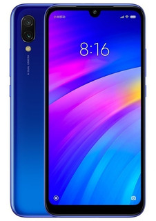 Celular Xiaomi Redmi 7 3/32gb Global Lacrado Blue