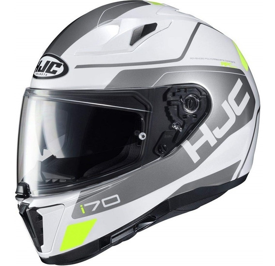 Capacete Moto Hjc I70 Karon Com Viseira Solar