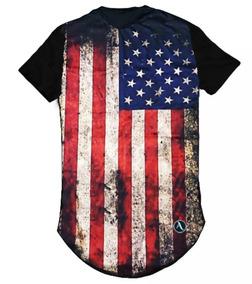 d82fd0edf7 Kit Com 3 Blusas Camisas Camisetas Femininas Long Estampadas