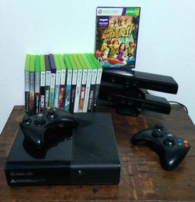 Xbox 360+2 Kinect+2 Controles+35 Jogos